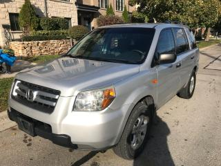 Used 2007 Honda Pilot 8 PASSENGERS, CERTIFIED, NO ACCIDENTS, LOW KMS for sale in Toronto, ON