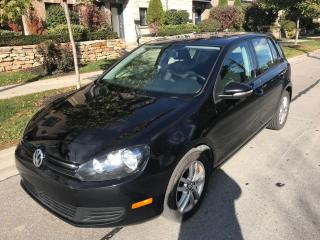 Used 2010 Volkswagen Golf AUTO, SUNROOF, ALLOYS, WELL MAINTAINED for sale in Toronto, ON
