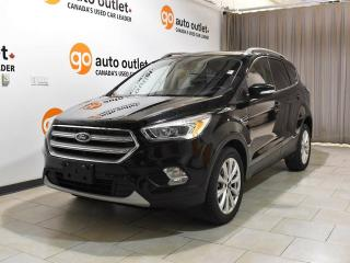 Used 2017 Ford Escape Titanium - Heated Leather Seats - Nav - Pano roof for sale in Edmonton, AB
