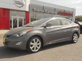 Used 2012 Hyundai Elantra Limited for sale in Peterborough, ON