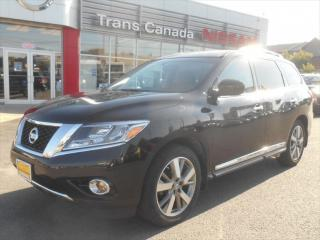 Used 2014 Nissan Pathfinder Platinum for sale in Peterborough, ON