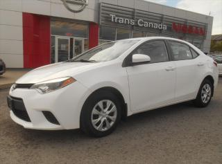 Used 2014 Toyota Corolla Eco Plus for sale in Peterborough, ON