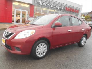 Used 2012 Nissan Versa 1.6 SV for sale in Peterborough, ON