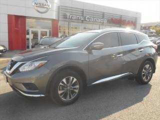Used 2015 Nissan Murano SL for sale in Peterborough, ON