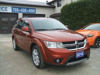 Used 2014 Dodge Journey Limited , V6 for sale in Beaverton, ON