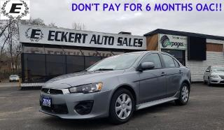 Used 2016 Mitsubishi Lancer ES WITH BLUETOOTH for sale in Barrie, ON
