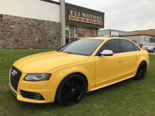 Used 2011 Audi S4 Premium Plus | Bluetooth | Leather | Backup Sensor for sale in North York, ON