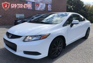 Used 2012 Honda Civic LX/ONE OWNER/NO ACCIDENT/CERTIFIED/WARRANTY INCL for sale in Cambridge, ON