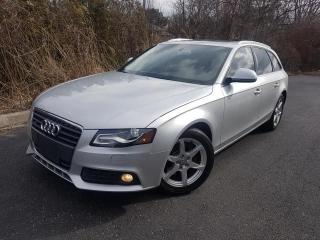 Used 2009 Audi A4 2.0T AWD WAGON PANOROOF for sale in Oakville, ON