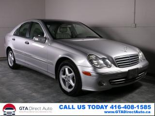 Used 2005 Mercedes-Benz C-Class C240 4Matic Leather Heated Seats Certified for sale in Toronto, ON