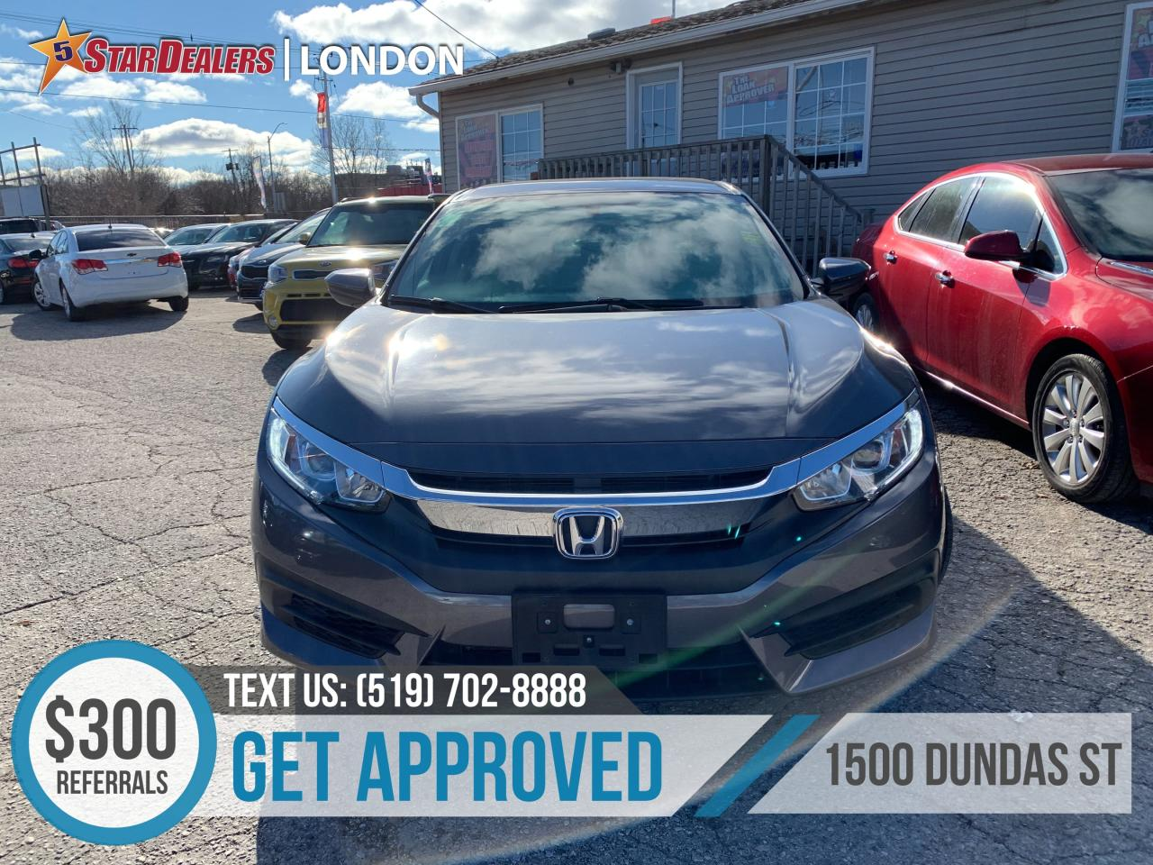 Honda London Ontario >> Used 2017 Honda Civic For Sale In London Ontario Carpages Ca