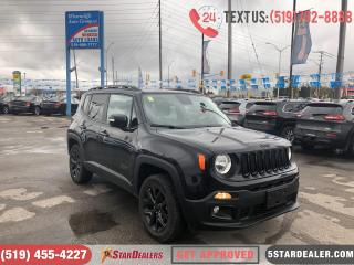 Used 2016 Jeep Renegade North | NAV | CAM | 4X4 | HEATED SEATS for sale in London, ON