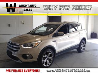 Used 2017 Ford Escape Titanium MOON ROOF NAVIGATION LEATHER 74,636 KMS for sale in Cambridge, ON