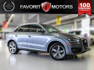 Used 2015 Audi Q3 , Sunroof, Leather, Bluetooth 2.0T Progressiv for sale in North York, ON