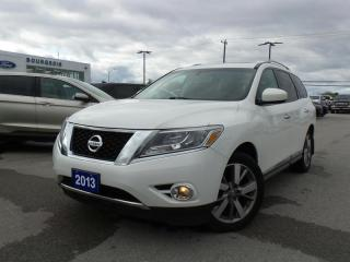 Used 2013 Nissan Pathfinder Platinum 3.5L V6 for sale in Midland, ON