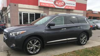 Used 2014 Infiniti QX60 CLEAN LOW MILEAGE NO ACCIDENT, ONE OWNER, NAVIAGTION for sale in North York, ON