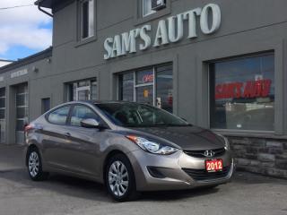 Used 2012 Hyundai Elantra 4DR SDN for sale in Hamilton, ON