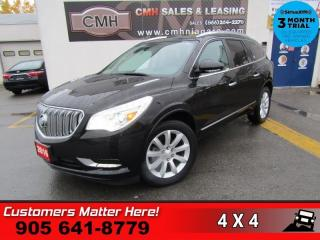 Used 2016 Buick Enclave Premium  AWD NAV DVD DUAL-ROOF BS LD CW CS PWR-TILT 7-PASS for sale in St. Catharines, ON