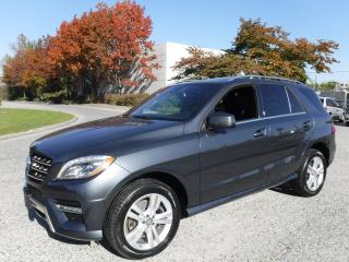 Used 2015 Mercedes-Benz ML-Class ML350 BlueTEC for sale in Burnaby, BC