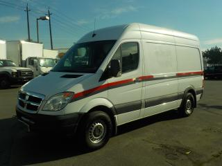 Used 2007 Dodge Sprinter 2500 144-in. WB Cargo Van Diesel with Air Compressor and Rear Shelving for sale in Burnaby, BC