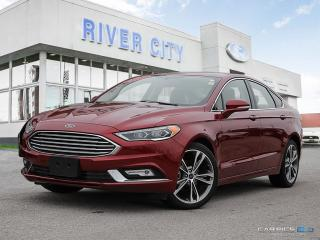 Used 2017 Ford Fusion 2.0L- LEATHER- ROOF for sale in Winnipeg, MB