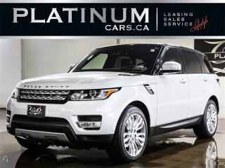 Used 2016 Land Rover Range Rover Sport HSE Td6, NAVI, PANO, CAM, Headsup for sale in Toronto, ON