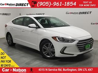 Used 2017 Hyundai Elantra GL| BLIND SPOT DETECTION| BACK UP CAM| for sale in Burlington, ON