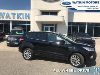 Used 2018 Ford Escape Titanium for sale in Vernon, BC