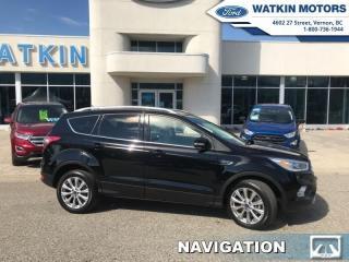 Used 2017 Ford Escape Titanium for sale in Vernon, BC