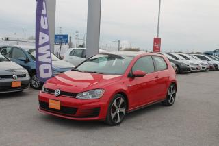 Used 2015 Volkswagen GTI 3-Door for sale in Whitby, ON