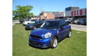Used 2014 MINI Cooper Paceman Cooper S ~ AWD ~ NAVIGATION ~ LEATHER ~ for sale in Toronto, ON