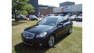 Used 2008 Infiniti M45 Luxury ~ NAVI. ~ LEATHER ~ FULLY LOADED ~ AWD ~ for sale in Toronto, ON
