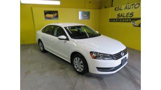 Used 2012 Volkswagen Passat 2.5L Trendline ~ EXTRA CLEAN ~ CERTIFIED ~ for sale in Toronto, ON