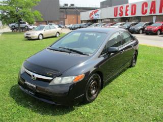 Used 2006 Honda Civic LX ~ AUTOMATIC ~ CERTIFIED ~ for sale in Toronto, ON