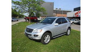 Used 2007 Mercedes-Benz ML-Class ML350 ~ NAV ~ REAR CAM ~ 4 MATIC for sale in Toronto, ON