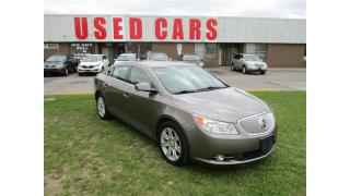 Used 2011 Buick LaCrosse CXL~LETAHER~HEATED SEAST~LOW KM'S~CERTIFIED for sale in Toronto, ON