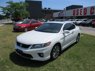 Used 2013 Honda Accord EX-L-NAVI~6 SPEED MANUAL~LEATHER~SUNROOF for sale in Toronto, ON
