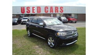 Used 2013 Dodge Durango Citadel ~ 7 PASS. ~ LETHAER ~NAVIGATION ~ DVD ~ for sale in Toronto, ON