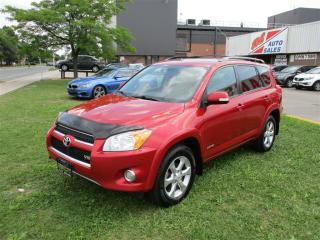 Used 2010 Toyota RAV4 ~ V6 ~ Limited ~ Leather ~ Roof ~ Bluetooth for sale in Toronto, ON