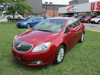 Used 2013 Buick Verano ~UPGRADED PACKAGE~BACK-UP CAM.~REMOTE STARTER~ for sale in Toronto, ON