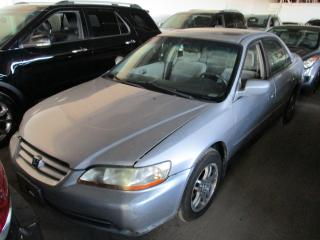 Used 2002 Honda Accord SE-V6 ~ AS IS ~ for sale in Toronto, ON