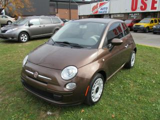 Used 2013 Fiat 500 Pop~LOW MILEAGE~AUTOMATIC~CERTIFIED for sale in Toronto, ON
