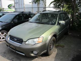 Used 2006 Subaru Outback 2.5 i Special Edition ~ DRIVES GOOD ~ AS-IS ~ for sale in Toronto, ON