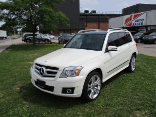 Used 2011 Mercedes-Benz GLK-Class GLK350 4MATIC~PARKING SENSSORS~PANORAMIC ROOF for sale in Toronto, ON