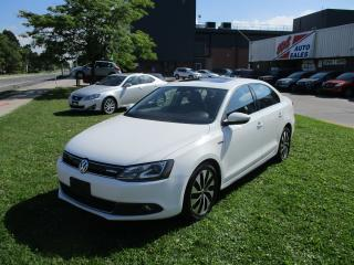 Used 2013 Volkswagen Jetta Highline~HYBRID~LEATHER~NAV. for sale in Toronto, ON