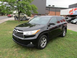 Used 2015 Toyota Highlander ~ LE ~ ACCIDENT FREE ~ 7 Passanger for sale in Toronto, ON