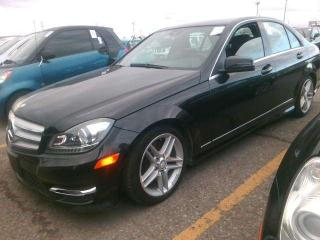 Used 2012 Mercedes-Benz C-Class / SUNROOF C300 4MATIC for sale in North York, ON