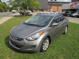 Used 2011 Hyundai Elantra GL~HEATED SEATS~LOW MILEAGE~CERTIFIED!!! for sale in Toronto, ON