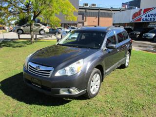 Used 2010 Subaru Outback 2.5 ~ BLUETOOTH~HEATED SEATS~CERTIFIED!!! for sale in Toronto, ON