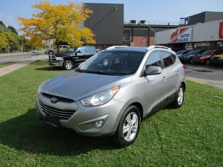 Used 2012 Hyundai Tucson GLS~LEATHER~HEATED SEATS~ALLOY WHEELS for sale in Toronto, ON